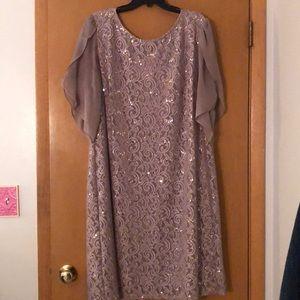WORN ONCE Scarlett Sequin Lace Dress